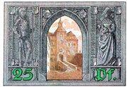 25 Pfennig (Finsterwalde) – revers