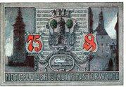 75 Pfennig (Finsterwalde) – avers