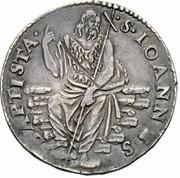 1 testone - Alfonso II – revers