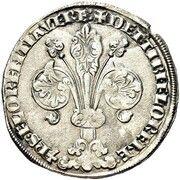 Guelfo da 20 denari – avers