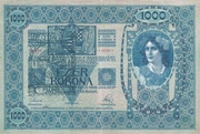 1000 Corone – avers