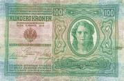 100 Kronen (Over-print) – avers