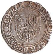 """Double Patard de Flandre - Charles Ier de Bourgogne dit """"le Téméraire"""" – avers"""