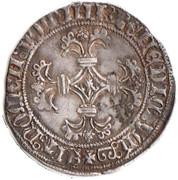 """Double Patard de Flandre - Charles Ier de Bourgogne dit """"le Téméraire"""" – revers"""