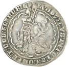 """Double gros dit """"botdraeder"""" - Louis II de Male (pour le comté de Flandre) – avers"""