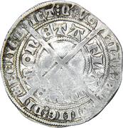 Lion d'argent - Louis II de Male – revers