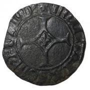 """Double mite de Flandre - Philippe III de Bourgogne dit """"le Bon"""" – revers"""