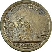 Médaille - Première guerre de Schleswig (Bataille de Bov, Flensbourg) – avers