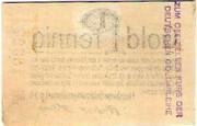 1 Pfennig (Flensburger Goldmarkgesellschaft. m.b.H  ) – revers