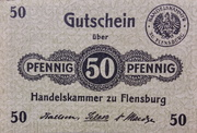 50 Pfennig (Handelskammer) – avers