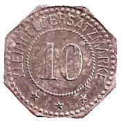 10 pfennig - Forbach (57) – avers
