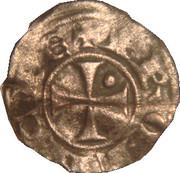 Denier ou Guillelmin de Guillaume V de Sabran - Comté de Forcalquier-Provence. – revers