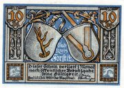 10 Pfennig (Forst (Lausitz)) – avers
