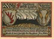 20 Pfennig (Forst Lausitz) – avers