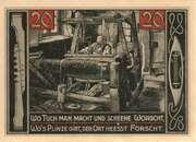 20 Pfennig (Forst Lausitz) – revers