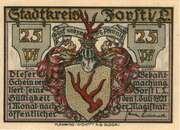 25 Pfennig (Forst in der Lausitz) – avers