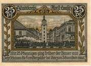 25 Pfennig (Forst in der Lausitz) – revers