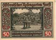 50 Pfennig (Forst in der Lausitz) – revers