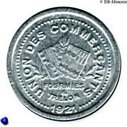 5 Centimes Union des Commercants de Fourmies et Trélon [59] – avers