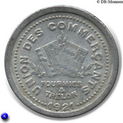 10 Centimes - Union des Commercants de Fourmies et Trélon [59] – avers