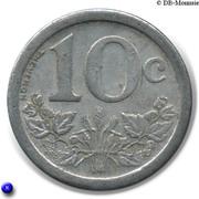 10 Centimes - Union des Commercants de Fourmies et Trélon [59] – revers