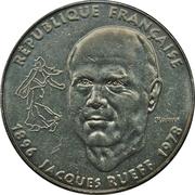 1 franc Jacques Rueff -  avers