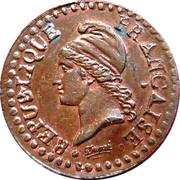 1 centime Dupré -  avers