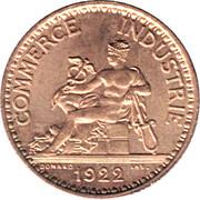 1 franc Chambres de commerce -  avers
