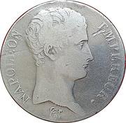 5 francs Napoléon Empereur tête nue (République Française) -  avers