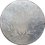 5 francs Napoléon Empereur tête nue (République Française) -  revers