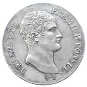 5 francs Bonaparte (consul) -  avers