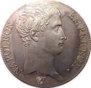 5 francs Napoléon Empereur (calendrier républicain) -  avers