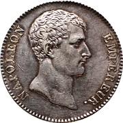 5 francs Napoléon Empereur (type intermédiaire) -  avers