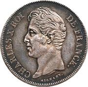 5 francs Charles X (2e type) -  avers