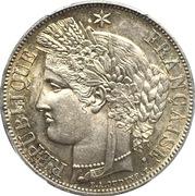 5 francs Cérès (IIe République) -  avers