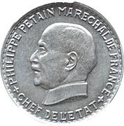 5 francs Pétain -  avers
