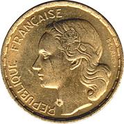 50 francs G.Guiraud -  avers