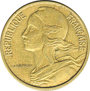 50 centimes Marianne -  avers