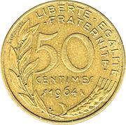 50 centimes Marianne (Cupro-aluminium) -  revers