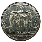 1 franc États généraux (Nickel) -  revers
