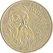 10 francs François Rude -  avers