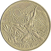10 francs François Rude -  revers