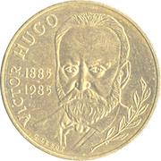10 francs Victor Hugo -  revers