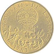 10 francs Conquête de l'Espace -  avers