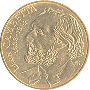 10 francs Gambetta -  avers