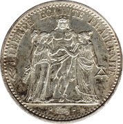 10 francs Hercule -  avers