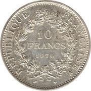 10 francs Hercule -  revers