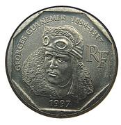 2 francs Guynemer -  avers