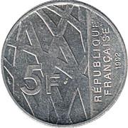 5 francs Mendès France -  avers