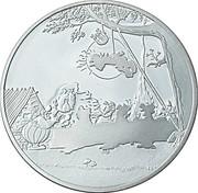 1½ euros Astérix (Le banquet) -  avers
